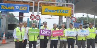rfid toll launch