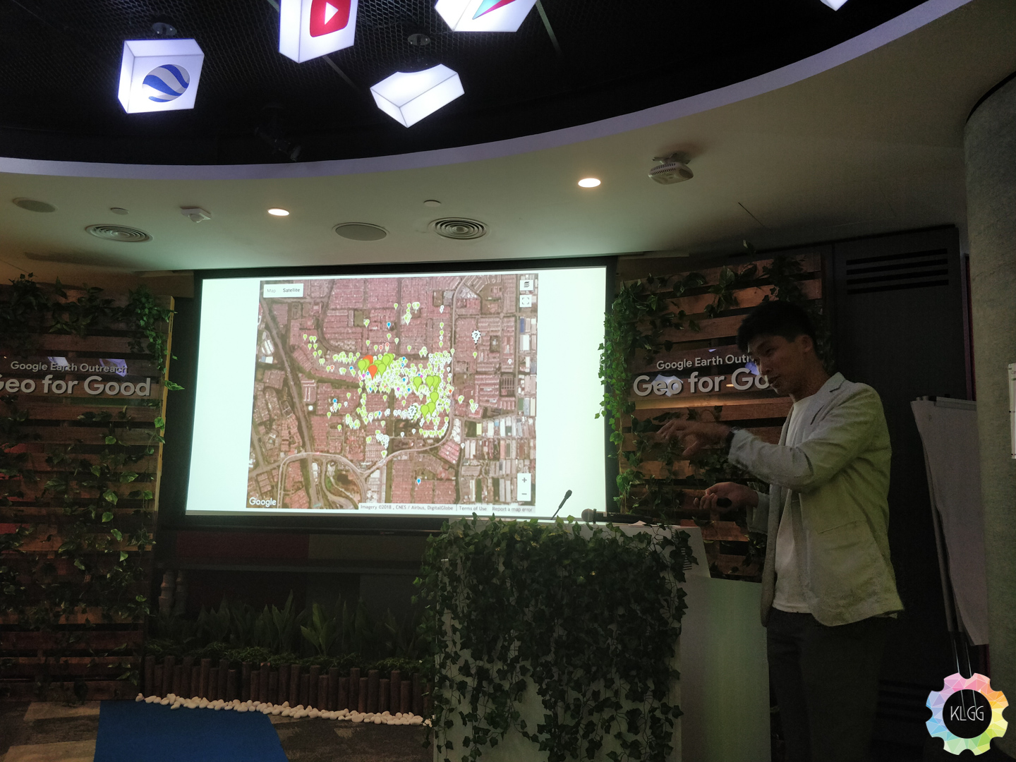 Google Earth Outreach assists NGOs with their research of preserving the country's ecology 3