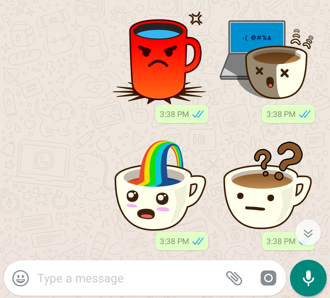 WhatsApp stickers and Stickers Store are coming real soon 1