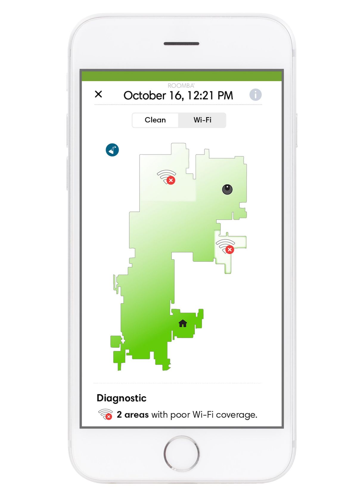 Google and iRobot's spatial mapping can enhance smart home