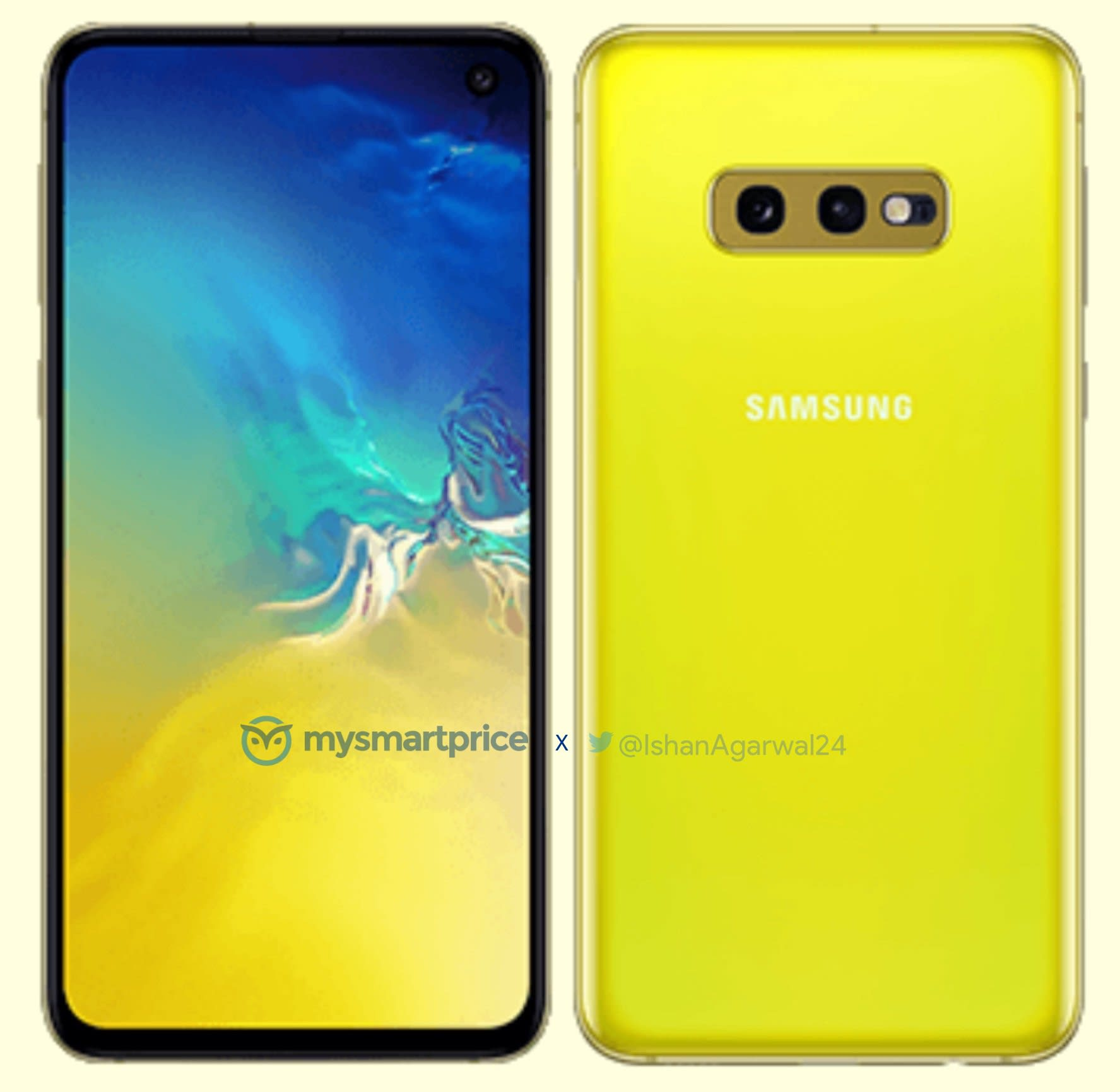 The Galaxy S10e will get a Canary Yellow color 1