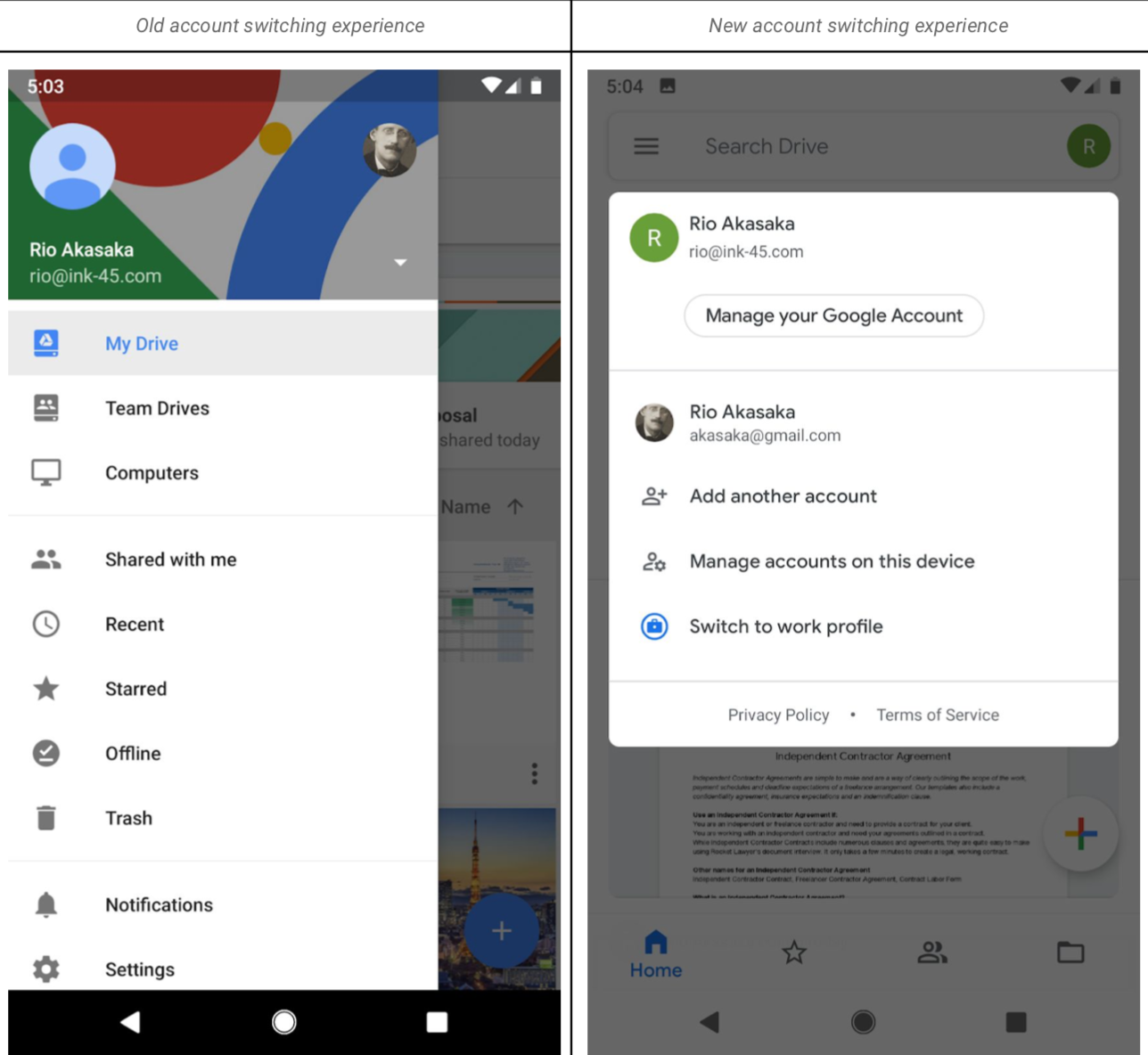 Google Drive redesigns its mobile app for Android and iOS users 1