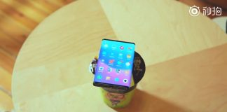 Xiaomi double-folding smartphone