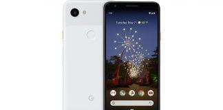 Google Pixel 3a Render