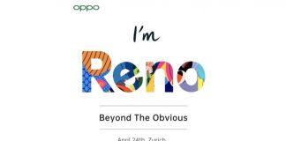 OPPO Reno Press Invite