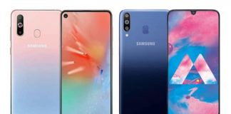 Samsung Galaxy A60 and Galaxy A40s