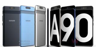 Samsung Galaxy A90 Concept Render