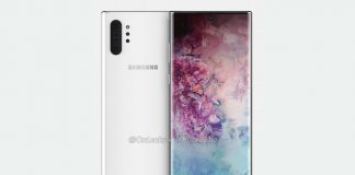 Galaxy Note 10 Pro Render