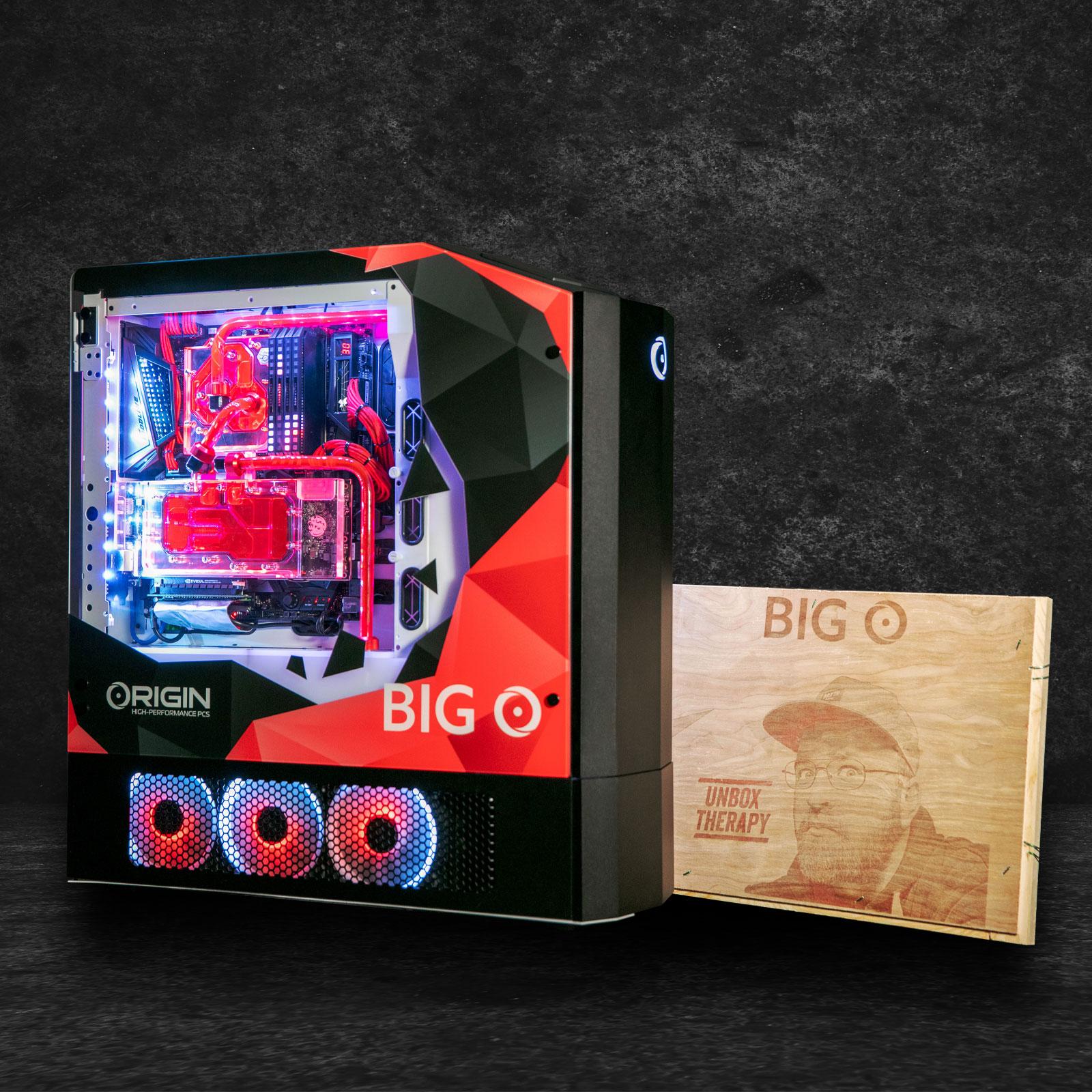 Origin PC debuts Big O PC that incorporates PS4, Xbox, Switch and PC into one machine 1