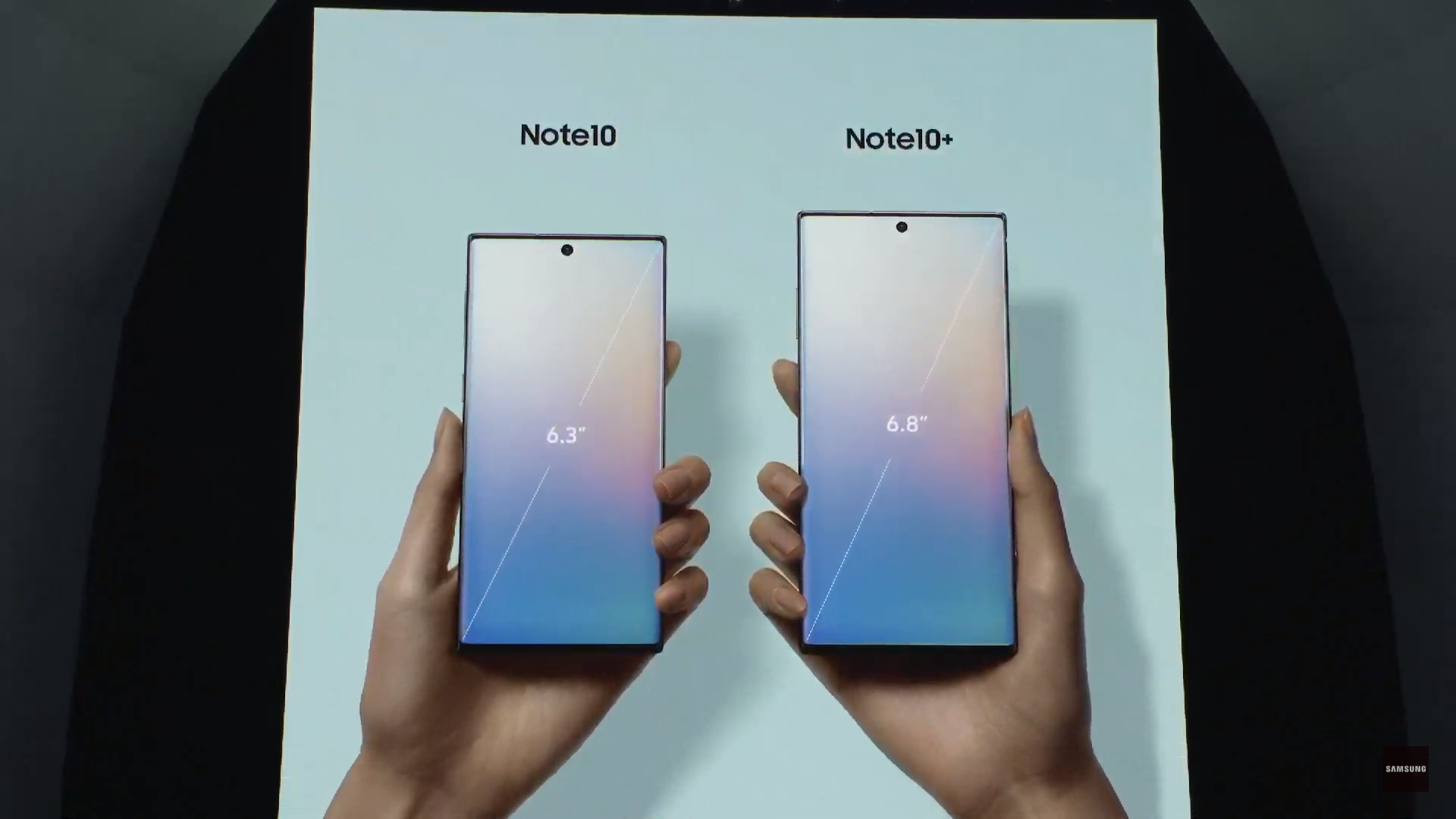 The Samsung Galaxy Note 10 series is officially unveiled - big upgrades all around 1