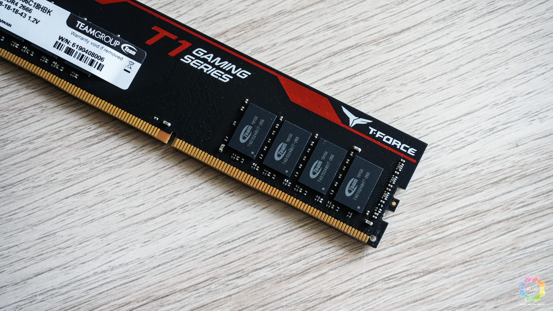 T-FORCE T1 DDR4 Gaming Memory Review: A Surprisingly Good Performing Value Gaming RAM 2