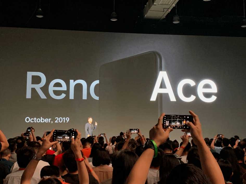 Oppo Reno Ace confirmed to launch on October 10 in China