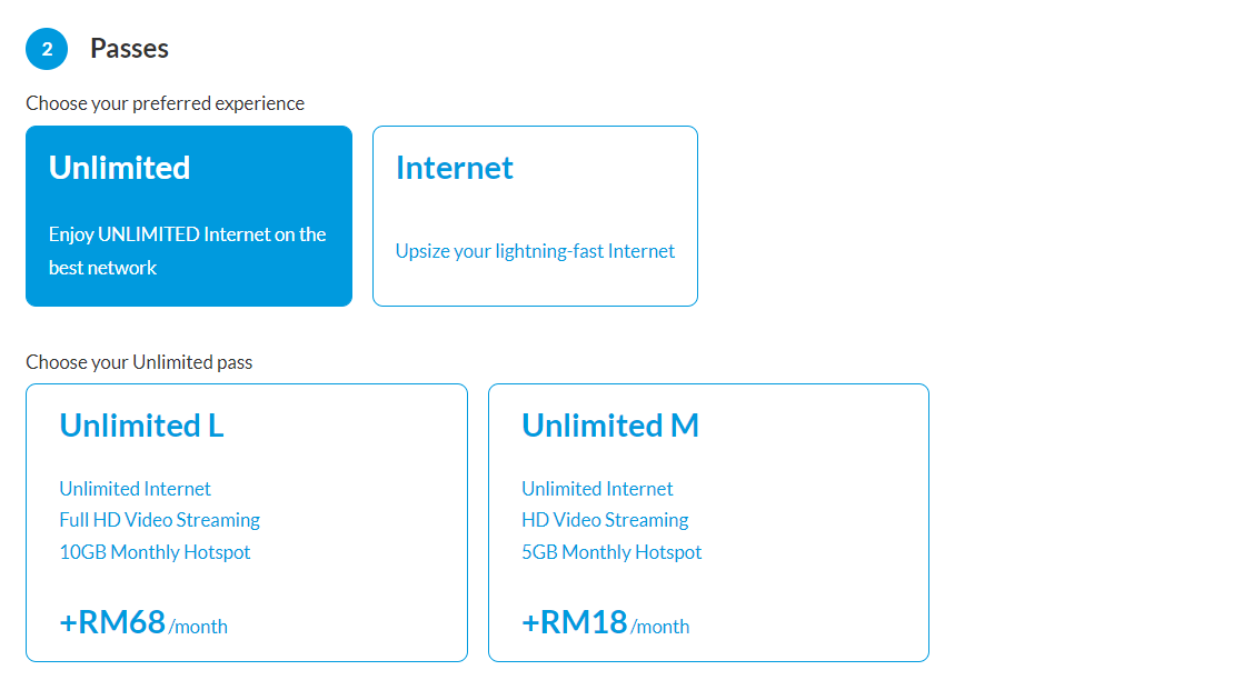 Celcom's MEGA Postpaid plan allows flexible add-ons on top of 30GB for RM80/month 1