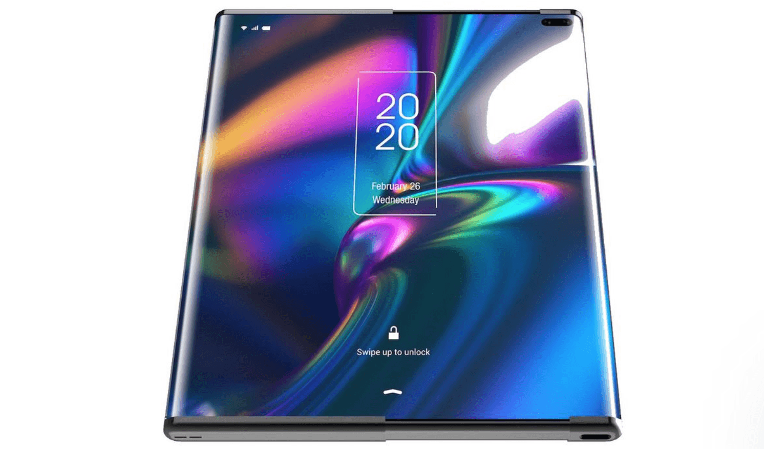 TCL's newest concept phone replaces foldable display with an extendable slide-out screen 10