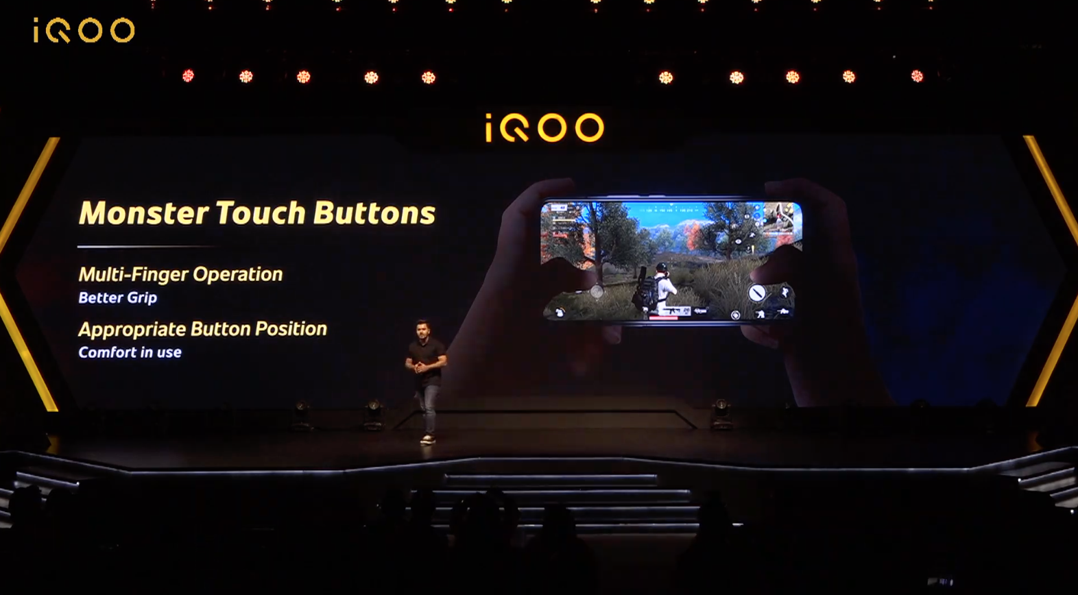 The iQOO 3 is a 5G gaming phone with Monster Touch Buttons 1