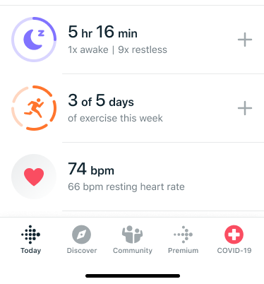 Fitbit adds new COVID-19 Resource Hub in app to assist Fitbit users 1