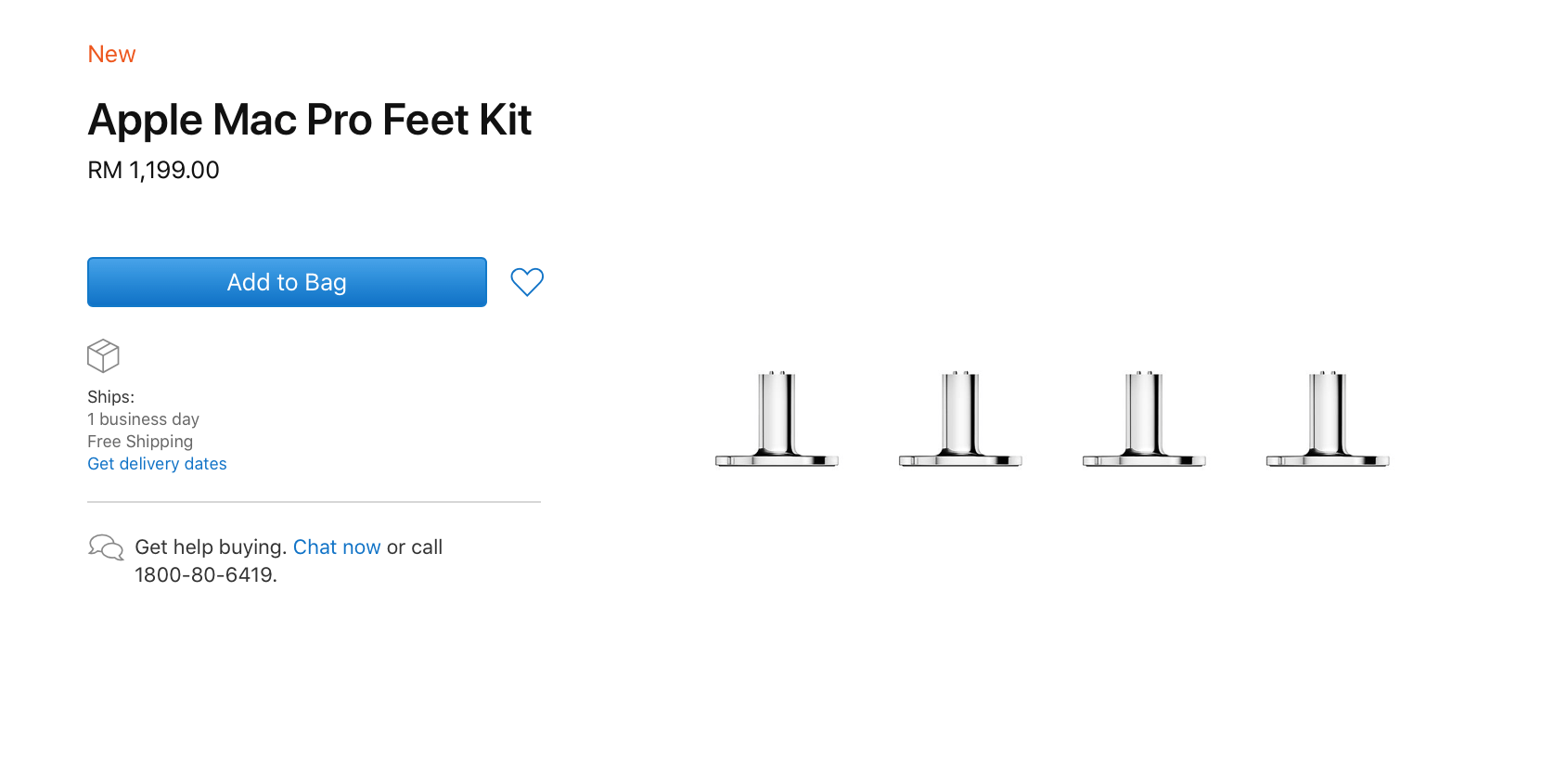 The price of the Mac Pro Wheels Kit can get you an iPhone SE and an AirPods 2