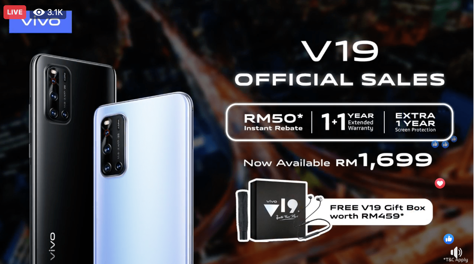 Vivo V19 lands in Malaysia with a 32MP dual front camera at RM1,699 40