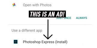 adobe photoshop ad android