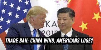Huawei trade ban trump shake hands xi jin ping
