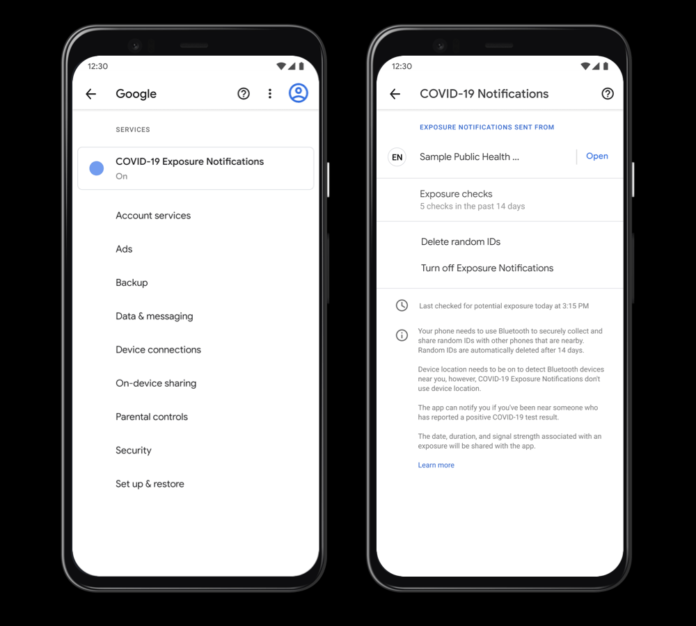 Apple and Google launched Exposure Notification technology for contact tracing apps 1