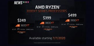 AMD Ryzen 3000xt pricing