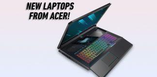 Acer Predator Helios 700 open keyboard