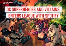 Spotify, DC superheroes, DC characters, DC, Warner Bros