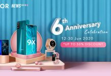 HONOR 6th anniversary sale honor 9x watch