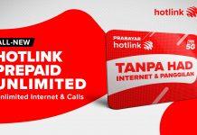 Hotlink Prepaid unlimited, Hotlink