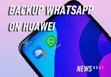 HONOR 9x Huawei mobile cloud whatsapp backup