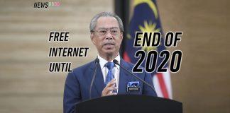 Tan sri muhyiddin yassin free internet penjana