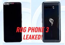 ROG Phone 3 design leak TENAA