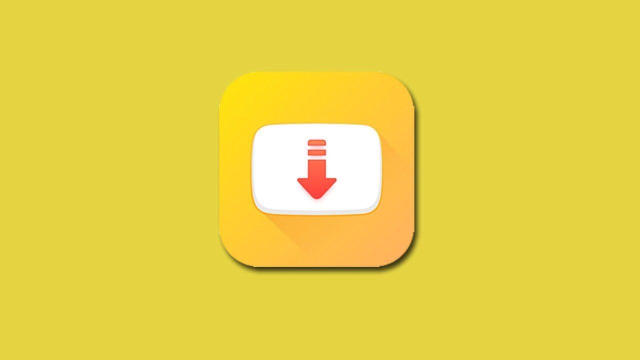 Snaptube logo yellow background