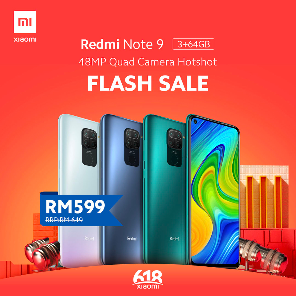 Xiaomi 6.18 Online Mid Year Sales: Latest Redmi Note 9 and POCO F2 Pro are on sale! 2