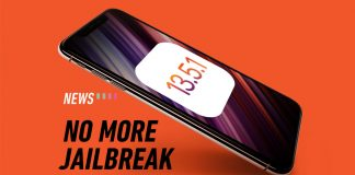 iOS 13.5.1 update jailbreak iphone