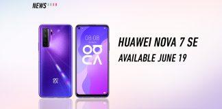 Huawei, nova 7 se