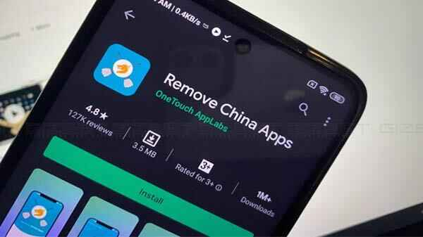 """Popular """"Remove China Apps"""" now withdrawn from Play Store 1"""