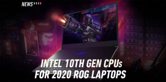 ASUS ROG 2020 launch