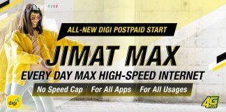 Digi Postpaid start, postpaid 58, postpaid 38
