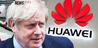 Boris Johnson Huawei UK ban