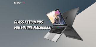 Macbook, Apple, glass keyboards