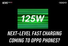 OPPO, 125W, fast charging
