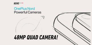OnePlus Nord camera specs