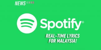 Spotify real-time lyrics