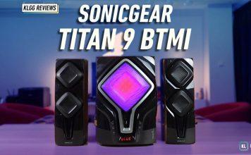 SonicGear Titan 9 review black