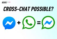 Facebook messenger whatsapp merge cross chat