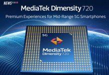Dimensity 720, MediaTek