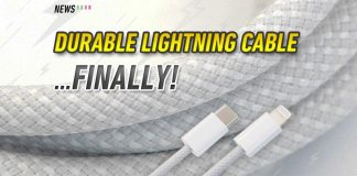 Lightning to USB-C cable, Apple, iPhone