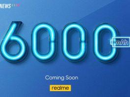 realme, 6,000mAh battery, phone